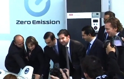 Nissan Opens in Mexico the First Electric Vehicle Quick Charging
